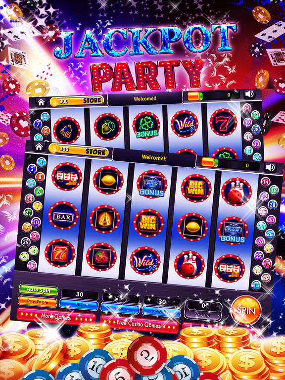 jackpot party casino app free coins