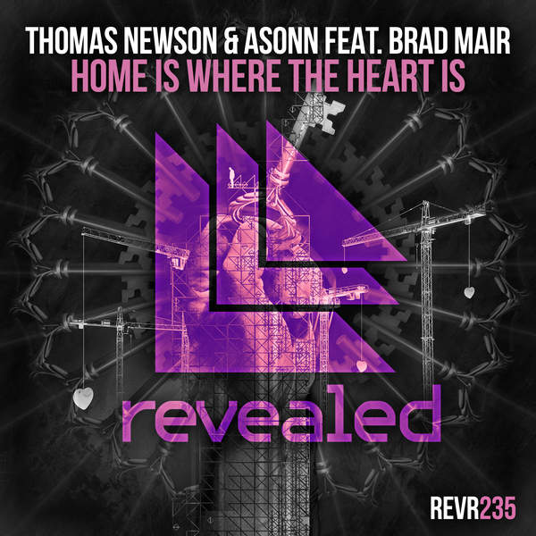 Thomas Newson & Asonn - Home Is Where the Heart Is (feat. Brad Mair) [Extended Mix] - Single [iTunes Plus AAC M4A] (2016)