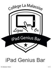 iPad Genius Bar - Education