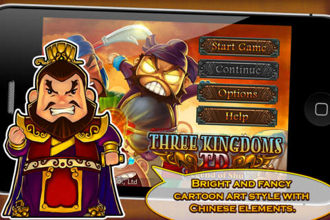 Three Kingdoms TD - Legend of Shu Screenshot