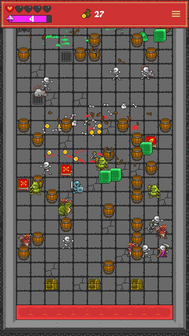 Screenshot 5 One Tap RPG - Pachinko-like Dungeon Crawler