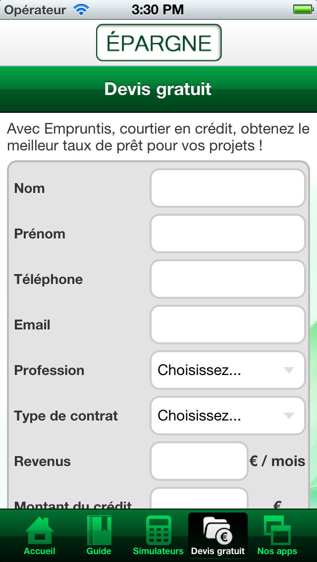 Epargne app: insight & download.