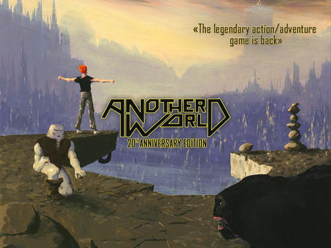 Another World - 20th Anniversary iOS Screenshots