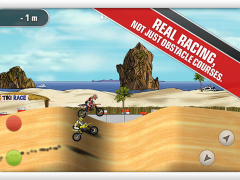 Mad Skills Motocross iOS Screenshots