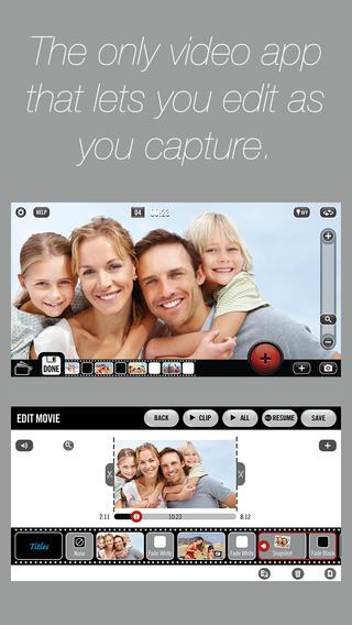 Vizzywig - Video Editor Movie Maker and Multi Camera Film Edit Effects Slideshow Music Editing Credits App Screenshot