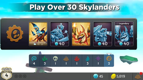 Skylanders Cloud Patrol iPhone screenshot 3