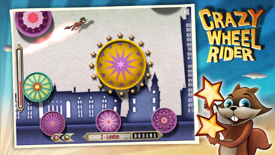 Crazy Wheel Rider HD Screenshot