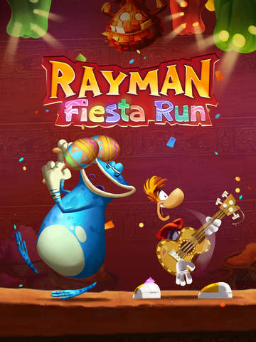 Rayman Fiesta Run iOS Screenshots
