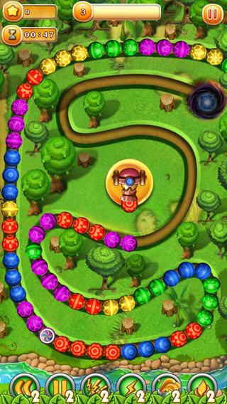 Игра зума на телефон бесплатно Marble Legend
