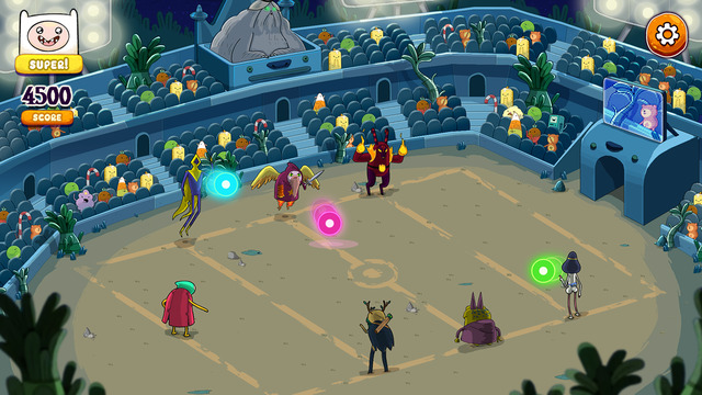 Rockstars of Ooo – Adventure Time Rhythmusspiel iPhone iPad