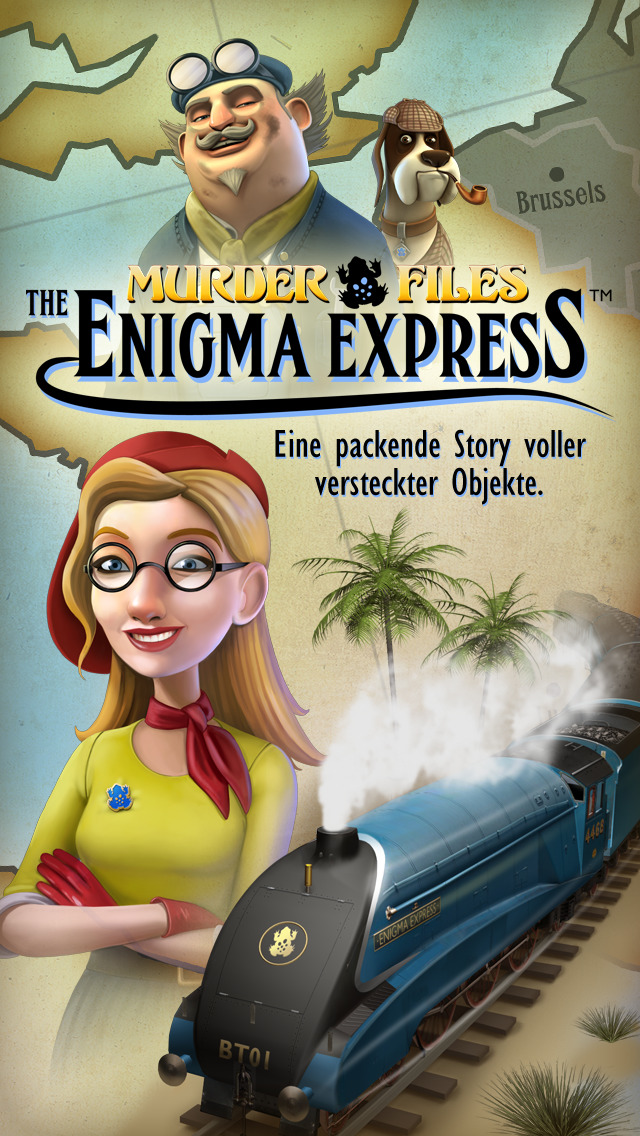 Enigma Express - Eine packende Story voller versteckter Objekte. iOS Screenshots