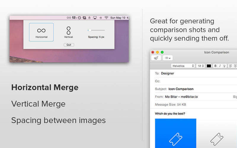 ImageJoiner 2 - combine multiples images into one Screenshot