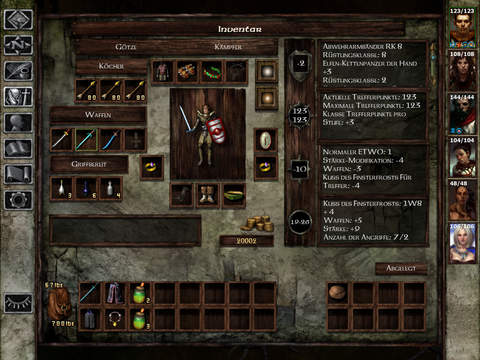 Icewind Dale: Enhanced Edition iOS Screenshots