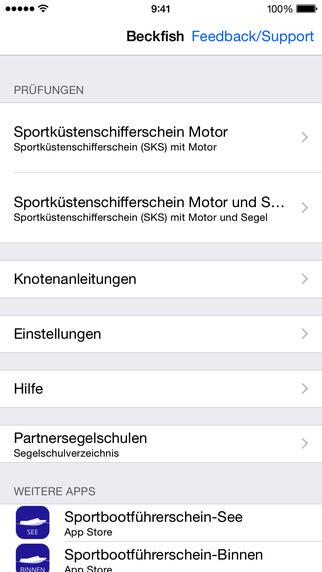 Captura de ecrã do iPhone 2
