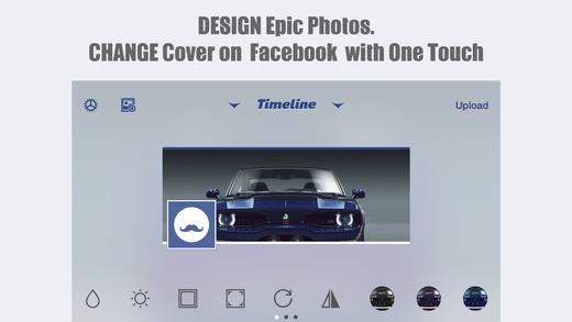 MagiCover: Timeline Cover Maker for Facebook Screenshot