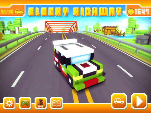 Blocky Highway iOS Screenshots
