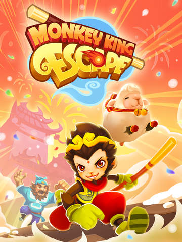 Monkey King Escape iOS Screenshots