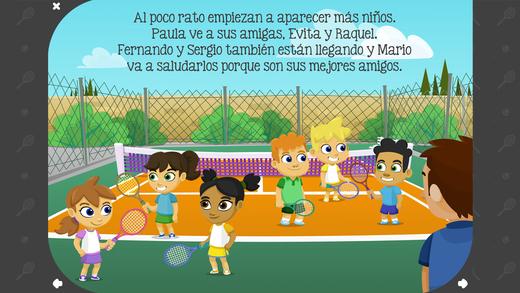 Los valores del deporte - Paula, Mario y la clase de tenis para