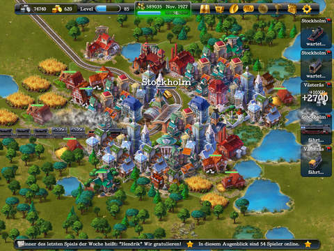 Screenshot 2 SteamPower1830 - Der Eisenbahn Tycoon