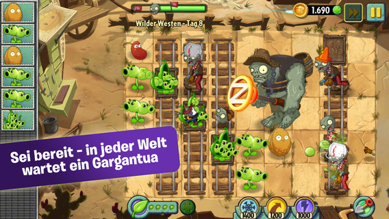 Screenshot 4 Plants vs. Zombies™ 2