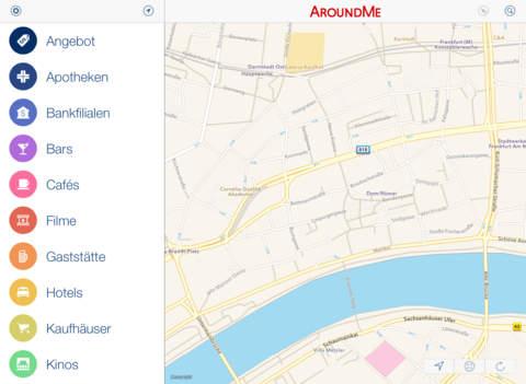 AroundMe Screenshot