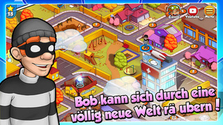 Robbery Bob: Double Trouble iOS Screenshots