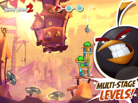 Angry Birds 2 – Dvakrát do jedné řeky ptáka nehodíš (Recenze)