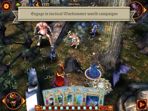Warhammer: Arcane Magic iOS Screenshots