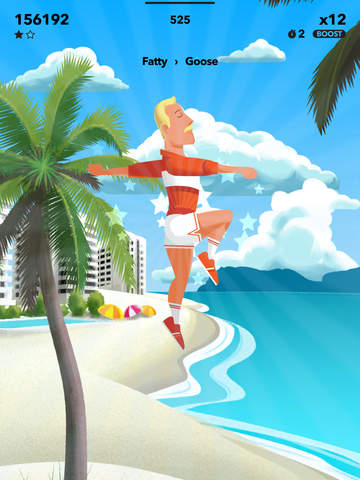 FALLMAN – Trampoline Action iOS Screenshots