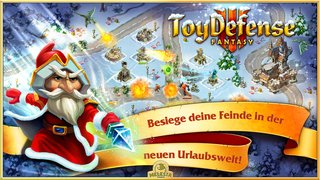 Toy Defense: Fantasy - Tower Defense Strategy Game iOS Screenshots