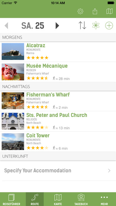 San Francisco Reiseführer (Offline Stadtplan) Screenshots
