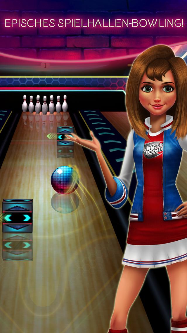 Bowling Central - Online multiplayer, Puzzle, Turniere, Apple TV unterstützen, Frei spiel! iOS Screenshots