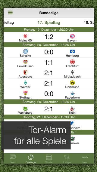 Pocket Liga – Live Ticker, Fussball Ergebnisse Screenshot