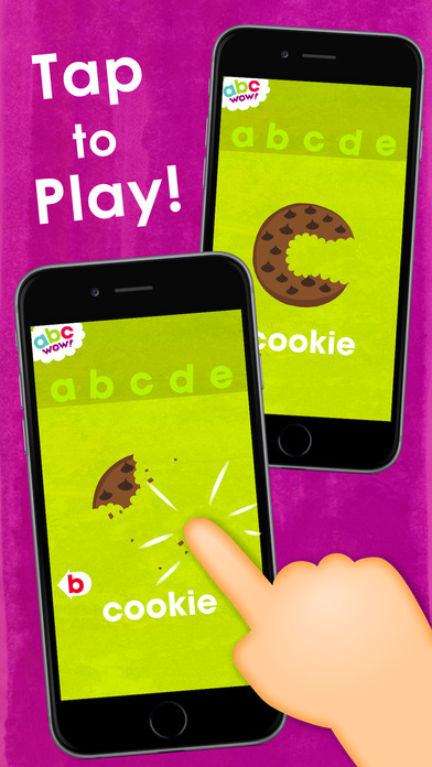 abc WOW! - Kids' Alphabet Flash Cards and Letters Song - Fun