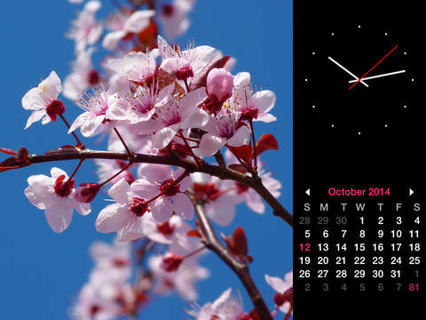 Photo Frame Calendar & Clock Screenshot