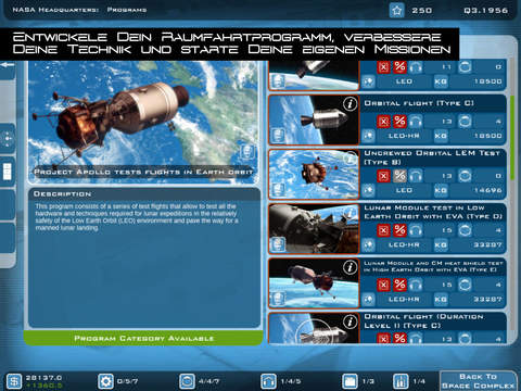 Buzz Aldrin's Space Program Manager iPad
