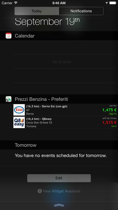Prezzi Benzina - Diesel Gpl Metano Screenshot