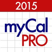 myCal PRO: Calendar & Event Organizer
