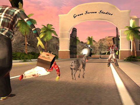 Goat Simulator GoatZ iOS Screenshots
