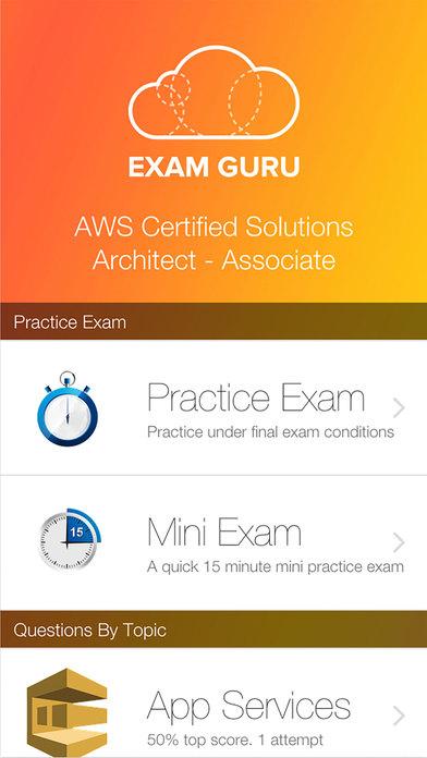 download Exam Guru: AWS Solution Architect - Associate appstore review