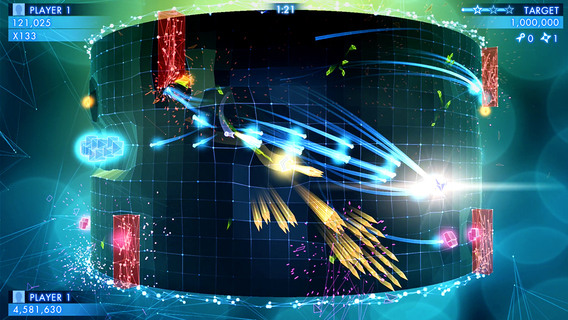 Screenshot 2 Geometry Wars 3: Dimensions Evolved