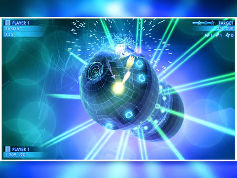 Geometry Wars 3: Dimensions Evolved iOS Screenshots