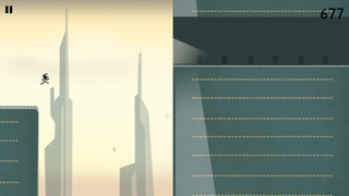 Stickman Roof Runner iOS Screenshots