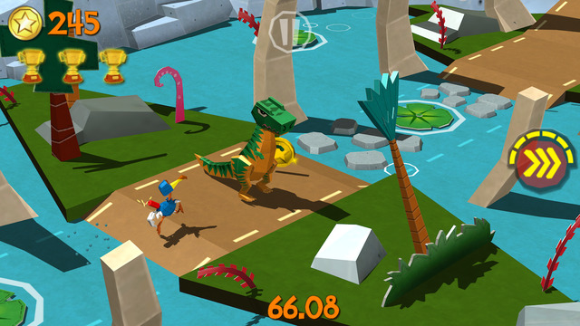 Cartoon Survivor - Jurassic Adventure Runner iPhone iPad