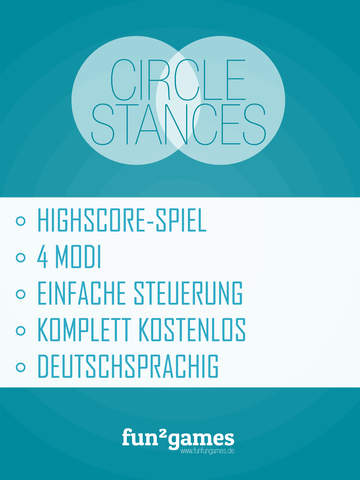Circlestances iOS Screenshots