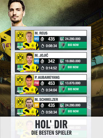 Screenshot 4 BVB Fantasy Manager 2017