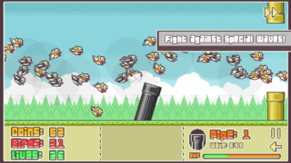 Flappy Defense iOS Screenshots