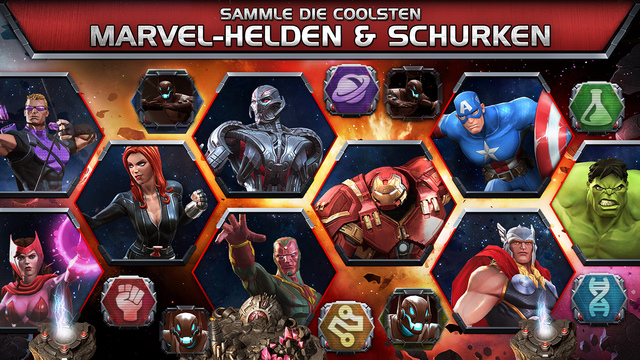 Marvel Sturm der Superhelden iPhone iPad