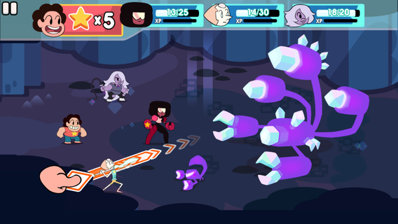 Attack the Light – Steven Universe Light iOS
