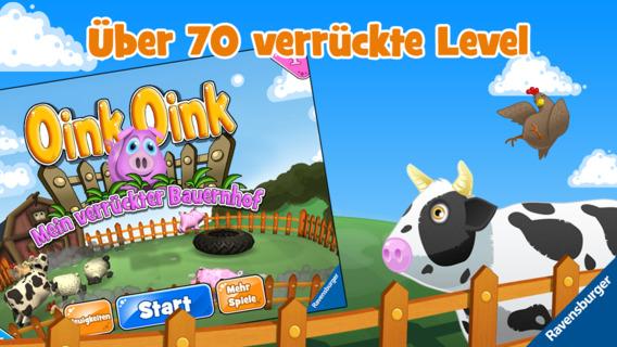 Oink, Oink – Mein verrückter Bauernhof iOS